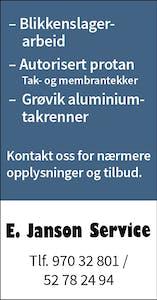 E. Janson Service