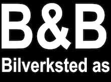 B&B Bilverksted as logo