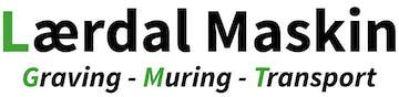 Lærdal Maskin logo