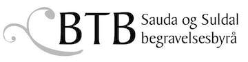 BTB Sauda og Suldal begravelsesbyrå logo