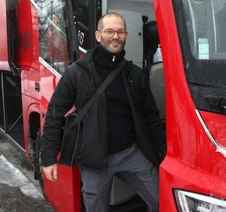 Ein må ha gjort seg førstehandserfaringar for å kunne ta gode avgjerder om transporttilbodet, meiner leiar i samferdselsutvalet i Rogaland fylkeskommune, Alexander Rügert-Raustein (MDG).
