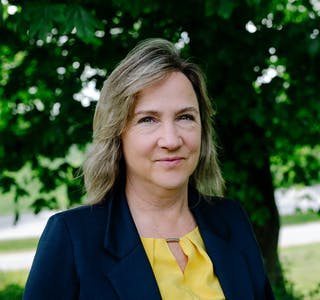 Ordførar i Strand kommune, Irene Heng Lauvsnes, ligg ifølge ei meiningsmåling gjort av Norstat for NRK an til stortingsplass til hausten.