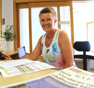 Jane Haukeland skal nå jobba med annonsesal og abonnement for avisa Ryfylke.