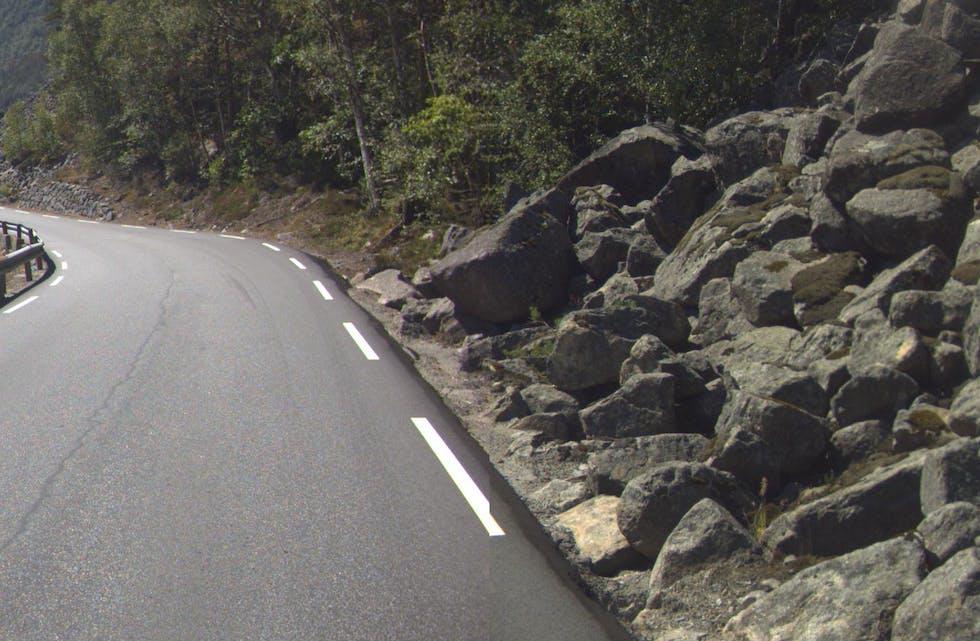Riksveg 13 mellom Tau og Årdal.