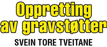 Svein Tore Tveitane – gravoppretting logo