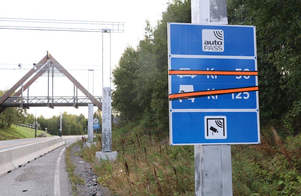 Torsdag blir det gratis å kjøra Finnfast, T-sambandet og fire andre vegsamband.