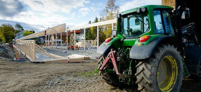 Nær seks av ti bønder ville starta med driftsbygningane dersom økonomien gir rom for investeringar.