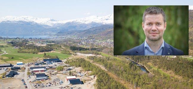 Selskapet Hy2gen har gjennomført mulegheitsstudie til etablering av ein ammoniakkfabrikk på Birkeland i Sauda. Prosjektet får brei politisk støtte, og blir skildra som eit eksempel til etterfølging av sentrale politikarar som Geir Pollestad (innfelt).