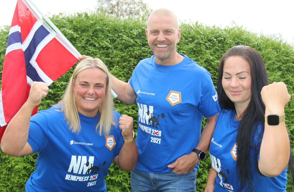 Stian Bjørheim (49), Hanne Matre (34) og Hildeborg Juvet Hugdal (38) er klare for NM, både som deltakarar og som arrangørar.