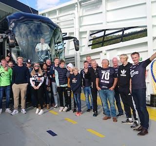 Denne gjengen reiste for å sjå Viking møta Sandefjord 1. oktober.